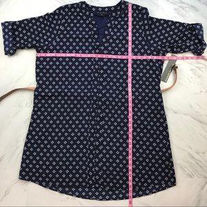 Always Indigo Dresses - [Always Indigo] Navy Belted Shirt Dress 3X